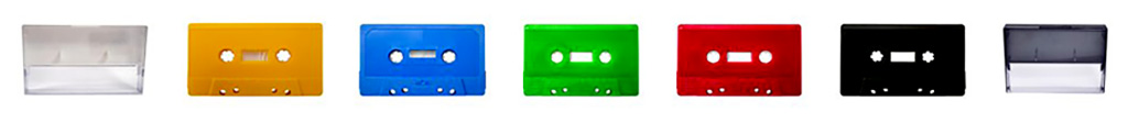 Colored Czeros Audio Cassettes